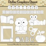 ABC Kindergarten - Digital Stamps - *DGD Exclusive*
