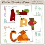 Alphabet Flashcards - Printables