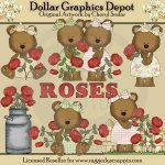 Rose Bears - *DGD Exclusive*