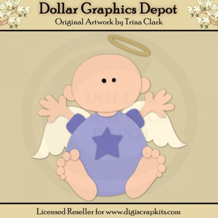 Angel Baby 2 - Cutting Files / Paper Piecing Patterns
