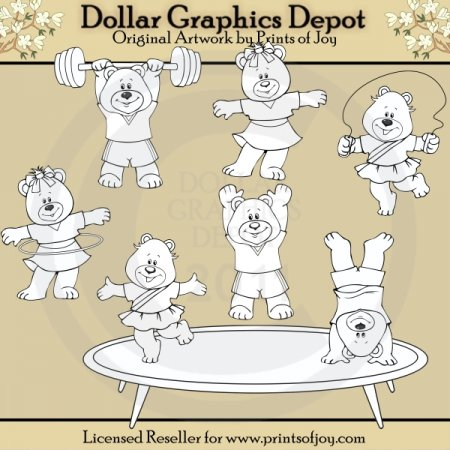 Gymnastic Bears (DS)