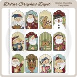 Christmas Wishes - Sheet Tags