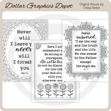 God's Word 2 - Coloring Pages