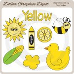 Colors - Yellow - Clip Art
