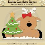 Reindeer Friends 1 - Cutting Files / Paper Piecing Patterns