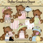 Tattered Teddies - Shopping
