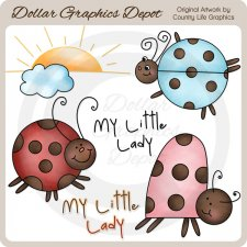 My Little Lady - Clip Art