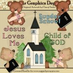 Jesus Loves Me - Clip Art