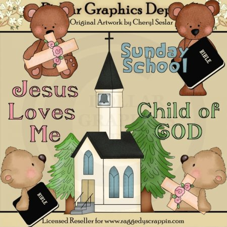 Jesus Loves Me 1 - Clip Art