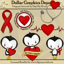 Be Heart Healthy - Clip Art