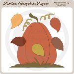 Fall Time 1 - Cutting Files / Paper Piecing Patterns
