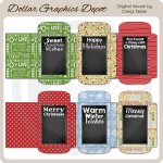 Christmas Chalkboard Cocoa Packets