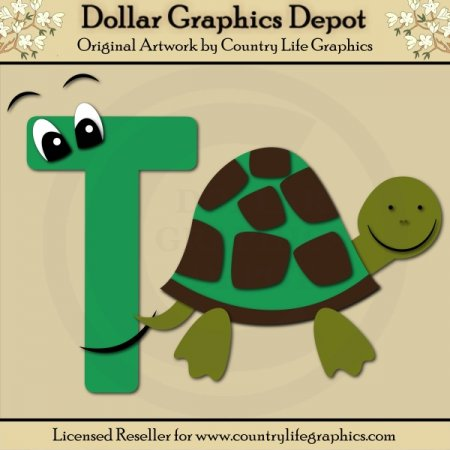 Alphabet Letter T - Cutting Files / Paper Piecing Patterns