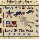 Americana Pride - Clip Art - *DGD Exclusive*