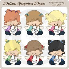 Angel Messages - Clip Art - *DGD Exclusive*