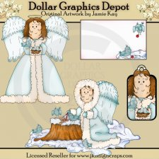 Woodland Angels 2 - Clip Art