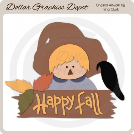 Fall Friends 2 - Cutting Files / Paper Piecing Patterns