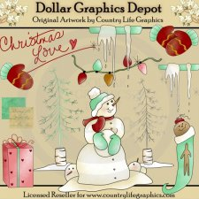 Christmas Love - Clip Art