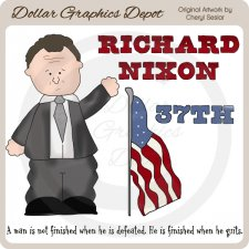 Richard Nixon - Clip Art