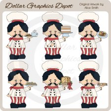 Giuseppe The Baker - Clip Art - *DGD Exclusive*