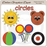 Shapes - Circles - Clip Art