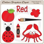 Colors - Red - Clip Art