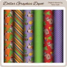 Fall Donkeys - Scrap Papers