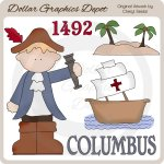 Christopher Columbus - Clip Art