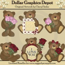 Love Bears - Clip Art