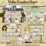 Baby Shopping - Clip Art - *DGD Exclusive*