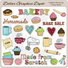 The Bakery - Clip Art