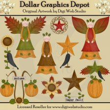 Fabulous Fall - Clip Art