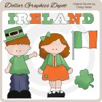 Irish Kids 1 - Clip Art