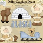North Alaska - Clip Art
