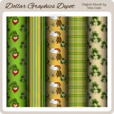St. Patrick's Day - Scrap Papers