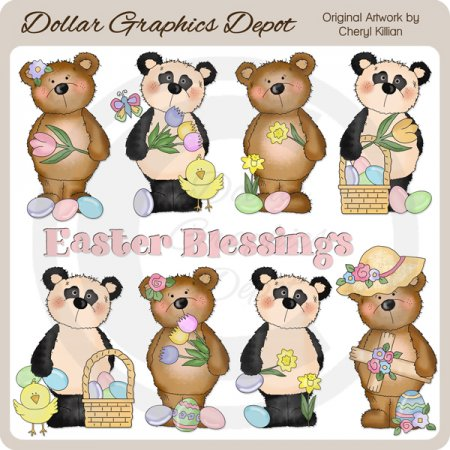 Bestie Bears - Easter - *DGD Exclusive*