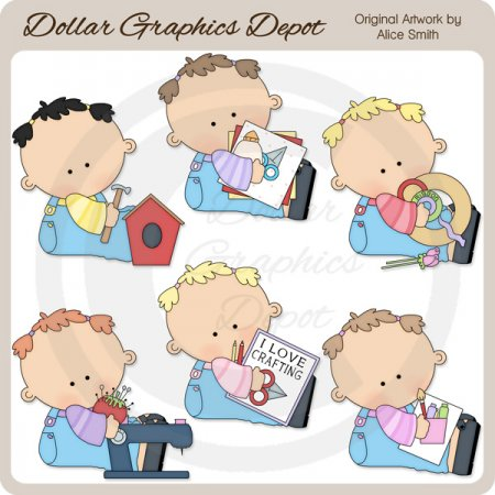 Lil' Crafter - Clip Art