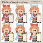 Annie's Floral Signs - Clip Art - *DGD Exclusive*