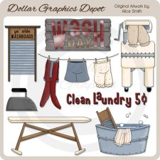 Wash Day - Clip Art