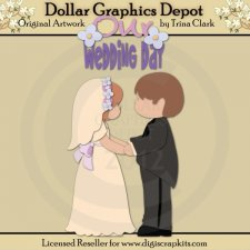 Getting Married 1 - Cutting Files / Paper Piecing Patterns