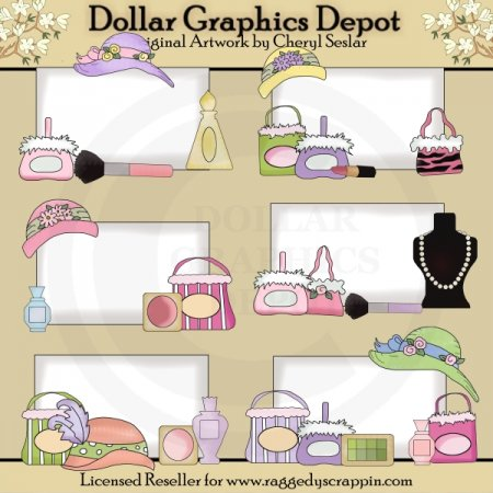 Shopping Bulletins - Clip Art