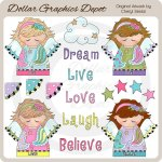 Dream Angels - Clip Art
