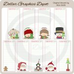 Christmas Lists - Printables