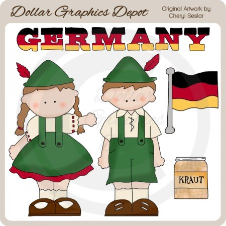 german kids clipart - photo #2