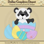 Easter Panda 4 - Cutting Files / Paper Piecing - *DGD Exclusive*