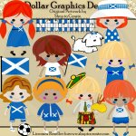 Scottish Dolls - Clip Art