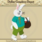 Easter Bunny - Cutting Files / Paper Piecing Patterns