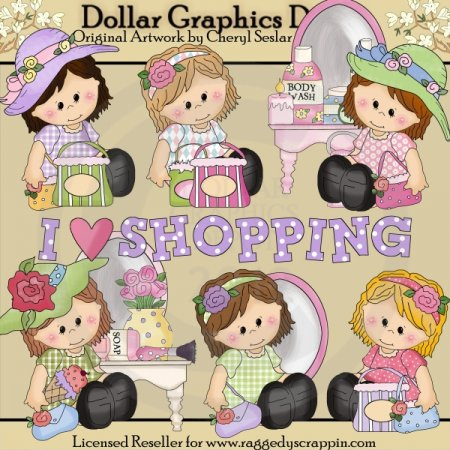 Little Sophie - Loves To Shop