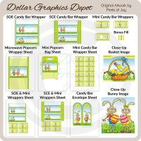 Easter Bunny Printable Set 5