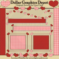 My Sweetheart 1 - Scrap Elements